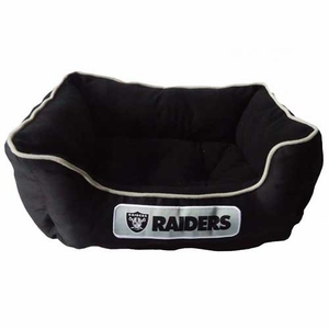Oakland Raiders Small Pet Bed - Click to enlarge