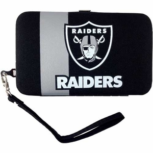 Oakland Raiders Smart Wristlet - Click to enlarge