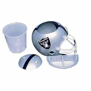Oakland Raiders Snack Helmet - Click to enlarge
