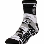 Oakland Raiders Snapback Band Camo Socks