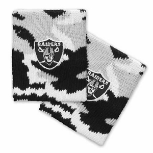 Oakland Raiders Snow Camo Wristband - Click to enlarge