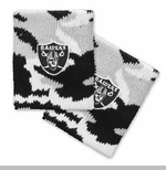 Oakland Raiders Snow Camo Wristband