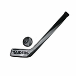 Oakland Raiders Softee Hockey Set