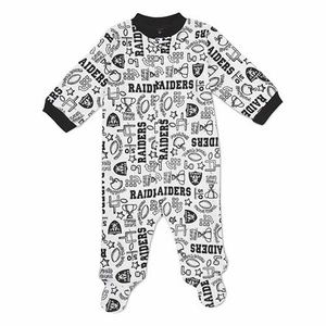 Oakland Raiders Solid Sleep N Play Set - Click to enlarge