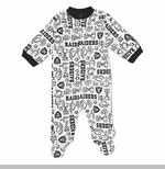 Oakland Raiders Solid Sleep N Play Set