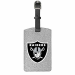 Oakland Raiders Sparkle Bag Tag