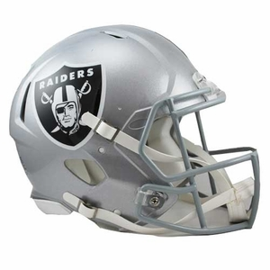 Oakland Raiders Speed Authentic Helmet - Click to enlarge