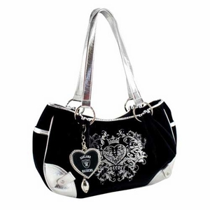 Oakland Raiders Sport Luxe Hobo - Click to enlarge