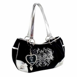 Oakland Raiders Sport Luxe Hobo
