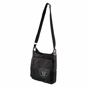 Oakland Raiders Sport Noir Cross Body Bag - Click to enlarge