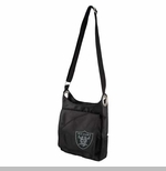 Oakland Raiders Sport Noir Cross Body Bag