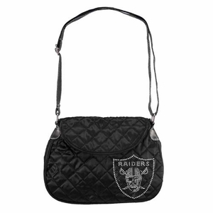 Oakland Raiders Sport Noir Saddlebag - Click to enlarge