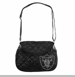 Oakland Raiders Sport Noir Saddlebag
