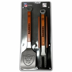 Oakland Raiders Sportula 3pc BBQ Set