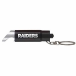 Oakland Raiders Spotlight Keychain And Bottle Opener