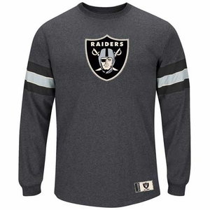 Oakland Raiders Spotlight Long Sleeve Tee - Click to enlarge