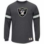 Oakland Raiders Spotlight Long Sleeve Tee