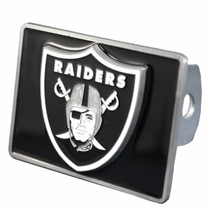 Oakland Raiders Square Logo Hitch Cover - Click to enlarge