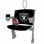 Oakland Raiders Stadium Seat Ornament