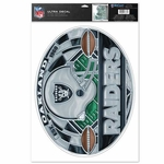 Oakland Raiders Stained Glass Decal