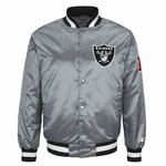 Oakland Raiders Starter Alternate Color Satin Jacket