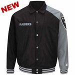 Oakland Raiders Starter Dugout Jacket