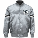 Oakland Raiders Starter Reigning Champ Reversible Jacket