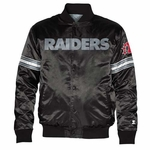 Oakland Raiders Starter Satin Jacket
