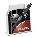 Oakland Raiders Stationary Desk Caddy