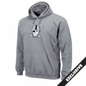 Raiders Steel Pirate Logo Tech Fleece - Click to enlarge