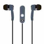 Oakland Raiders Stereo Headphones