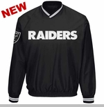 Oakland Raiders Stop & Go Pullover Jacket