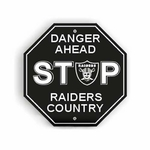 Oakland Raiders Stop Sign