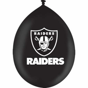 Raiders Stress Relief Balloon - Click to enlarge
