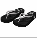 Oakland Raiders Sun Shyne Sailor Flip Flop