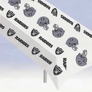 Oakland Raiders Table Cover - Click to enlarge