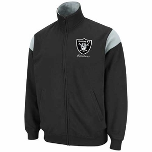Oakland Raiders Tailgate Time III Track Fleece - Click to enlarge