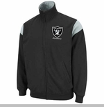 Oakland Raiders Tailgate Time III Track Fleece