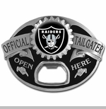 Oakland Raiders Tailgater Belt Buckle