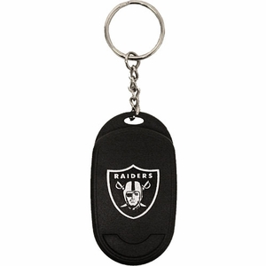 Oakland Raiders Talking Keychain - Click to enlarge