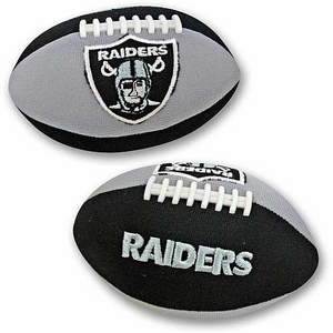 Oakland Raiders Talking Smasher Football - Click to enlarge