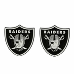 Oakland Raiders Team Logo Magnet 2 Pack