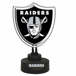 Oakland Raiders Team Logo Neon