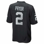 Oakland Raiders Terrelle Pryor Toddler Black Game Jersey