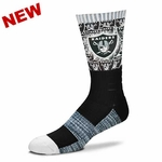 Oakland Raiders The Show Sock