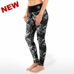 Oakland Raiders Thematic Print Leggings