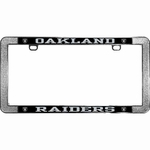 Oakland Raiders Thin Rim License Frame