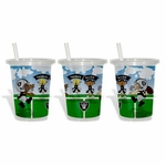 Oakland Raiders Three Pack Sip N Go Toss Away Cup
