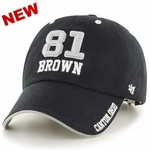 Oakland Raiders Tim Brown Hall OF Name and Number Cap