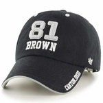 Raiders Tim Brown Hall OF Name and Number Cap
